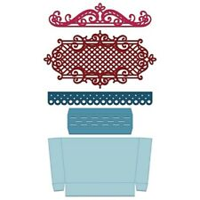Heartfelt Creations Window Box Elements Die HCD1-7150