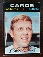 1971 TOPPS BOB BURDA # 541 Cards Free Shipping Set Break
