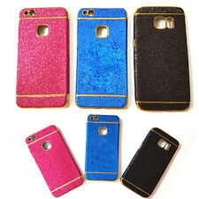 COVER TPU GLITTER BRILLANTINI COLORE NERA FASHION PER SMARTP APPLE IPHONE 5 / 5S