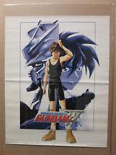 vintage Mobile suit GUNDAM wing Poster original fold up poster classic 7940