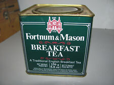 Vintage Fortnum & Mason 250g Empty Breakfast Tea Tin In Good Condition