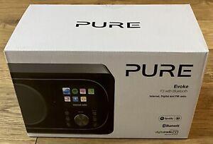 Pure Evoke F3 Bluetooth Speaker With Internet, Digital & FM Radio (New & Boxed)