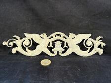 fronton bronze pour horloge XVIII é sphinx ailé d'époque