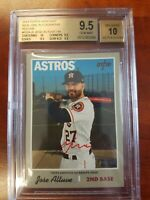 JOSE ALTUVE 2019 TOPPS HERITAGE REAL ONE RED INK AUTO BGS 9.5 GEM MINT /70