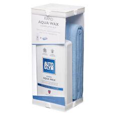 AUTOGLYM Rapid Aqua Wax Complete Kit Carnauba Spray Wax FREE MICROFIBRE CLOTHS