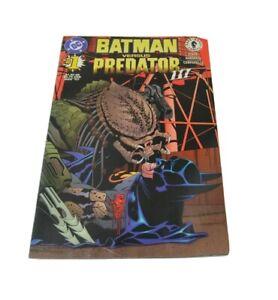 Batman Versus Predator III 3 #1 Dark Horse Comics DC Dixon Damaggio 1997