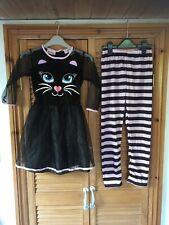 Girls Cat Halloween Costume 7-8 Years
