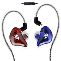 BASN In Ear Monitor Singer Earphones Noise-Isolating Comfort Earbuds Musicians
