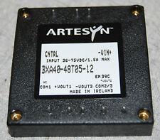 Artesyn Bxa40-48T05-12 Dc/Dc Converter (Input: 36-75Vdc, 1.5A Max, -Vin+)