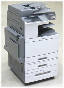 Lexmark X950de DIN A3 FAX Kopierer Scanner Farblaserdrucker 177.860 Seiten