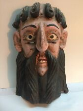 Antique Ethnic Wood Mask