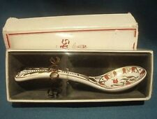 """A """"SPODE"""" THE ORIGINAL CABINET COLLECTION """"ORANGE PEKOE"""" SPOON - BOXED."""
