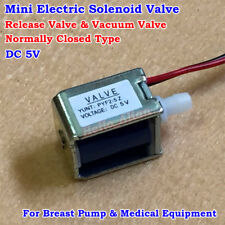 DC 5V Normally Closed Mini Electric Solenoid Valve Breast Pump Deflating Valve