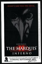 Guy Davis SIGNED 2009 Art Print ~ The Marquis Inferno Promo Dark Horse Comics