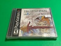 🔥 SONY PS1 PlayStation One PSX GAME 🔥 FINAL FANTASY ORIGINS 💯WORKING GAME