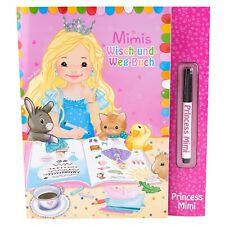 Princess Mimi Wisch-und-Weg-Buch, Prinzessin Mimi Malbuch Rätselheft Kinder 8432