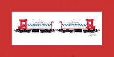 "Soo Line Twin Ports Switchers 10""x17"" print in 10""x20"" Mat Andy Fletcher signed"
