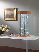 Vetrina piccola vetrinetta esposizione banco tavolo vetro cristallo modellismo