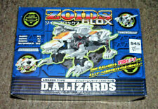 Zoids Blox Dual Arm Lizards Type Action Figure w/Vhs New! Tomy 2001 1/72