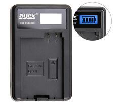 ayex USB Charger USB Ladegerät für Canon LP-E8 Kamera-Akku
