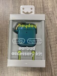 heyday Airpod Hard Case w/ AirPod Strap - Teal