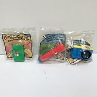 3 McDonald's Happy Meal Mystery of the Lost Arches 1991