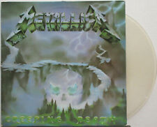 "METALLICA Creeping Death 1984 FRENCH Only ORG CLEAR Vinyl 12"" Single VG++"