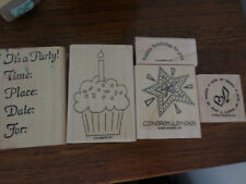 5 PARTY STAMPIN UP STAMPS
