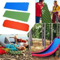Outdoor Camping Mat bed Air Inflatable Mattress Sleeping Rest Pad Travel Airbed