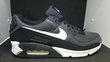Nike Mens Air Max 90 Running Black White Iron Grey CN8490 002