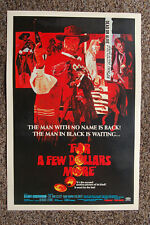 For A Few Dollars More Lobby Card Movie Poster Clint Eastwood