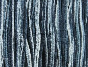 DMC Embroidery Floss Color Art 117 #53 Variegated Steel Gray