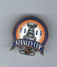 2003 Original Stanley Cup Finals NHL Hockey Lapel Pin