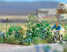 OO/HO 120 bleu fleurs (40 plantes) pour Paysage / jardin Busch 1262 F1
