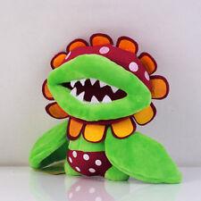 "Super Mario Brother 7"" Petey Piranha Plant Plush Toy Stuffed Doll Gift US ship"