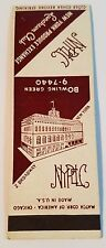 Rare Matchbook Cover - NEW YORK PRODUCE EXCHANGE - LUNCHEON CLUB - 2 Broadway NY