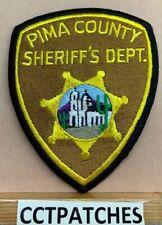 PIMA COUNTY, ARIZONA SHERIFF (POLICE) SHOULDER PATCH AZ