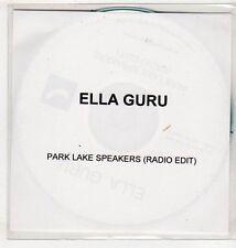 (EV742) Ella Guru, Park Lake Speakers - DJ CD
