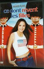 DVD du film CE DONT RÊVENT LES FILLES