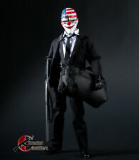 "1/6 Scale Escape Joker Shoulder Bag Black For 12"" Action Figure Body"