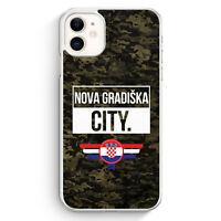Nova Gradiska City Camouflage Kroatien iPhone 11 Hülle Motiv Design Kroatisch...