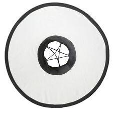 Runder Blitz-Vorsatz für Kamera-Blitz Systemblitz Round Flash Softbox Diffusor