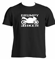 Grumpy Old Biker Mens Funny T Shirt For Bikers Novelty Gift Ideas For Bikers