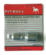 """2 Piece Socket Wrench Reducer Adapter Set Pit Bull Taia0095 1/2-3/8"""" & 3/8-1/4"""""""