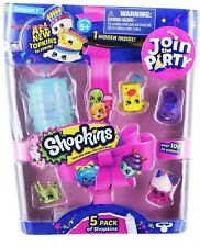 Shopkins S7 5Pk Toy. Join The Party! Exactly As Pictured. Free Shipping. NEW!