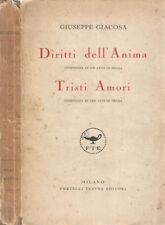 Diritti dell' Anima - Tristi Amori