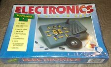 New Electronics (4050) Toplabs 6 Kits in One Electrical Build Kit 1994 Freeship