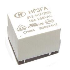 Relay HF3FA/012-HTF (335) 10A 250VAC HF3FA Coil 12V HONGFA
