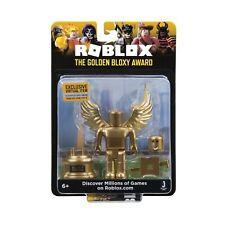 SEALED New ROBLOX Celebrity Gold Golden BLOXY Award Mini Action Figure Headset
