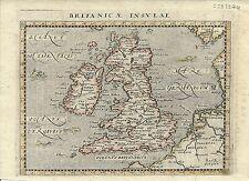 Antique map, Britanicae Insulae